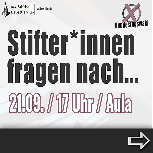 @debattierclub_esg Stifter:innen fragen nach... | Livestream Link Thumbnail | Linktree