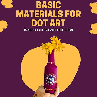 @dotsinabox E-Book | Basic Materials for Dot Art (English) Link Thumbnail | Linktree