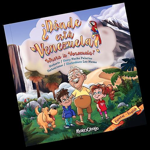 ¿Dónde está Venezuela? / Where is Venezuela? (Bilingual Edition)