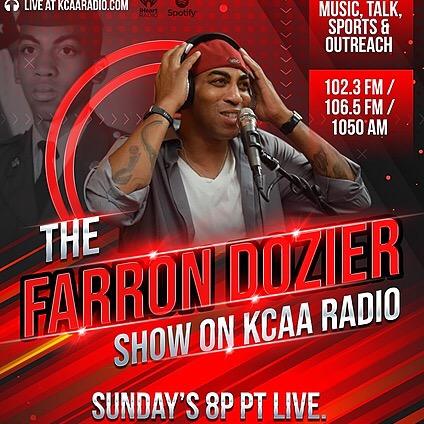 @farrondozier Sun 8p PT Farron Dozier Show Link Thumbnail | Linktree
