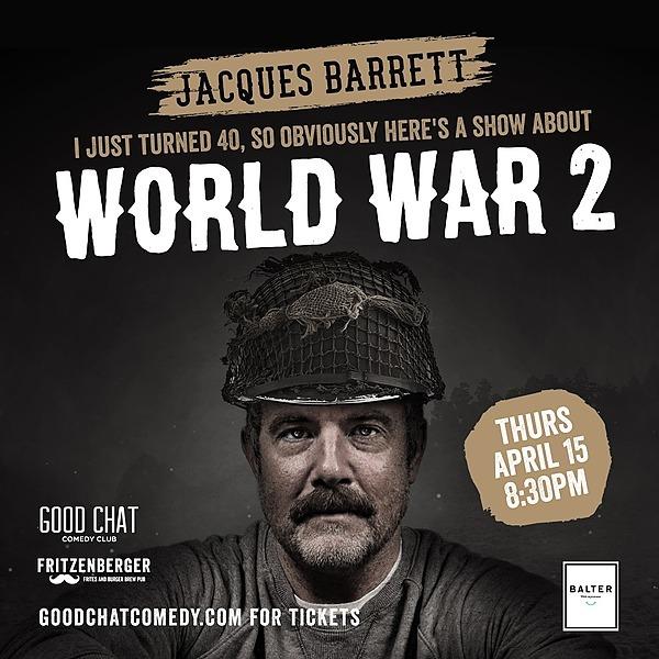 Get tickets to Jacques Barrett | World War 2 [April 15]