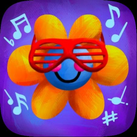 Retro Rockin' Flower