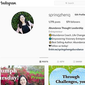 @springzhengabundance [Instagram] Spring Zheng Abundant Life Link Thumbnail   Linktree