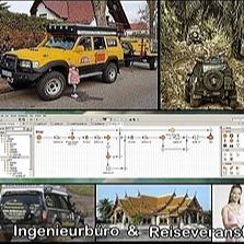 Dipl. Ing.  Uwe Richter Firmen Facebook Seite: Four Wheel Travel Co., Ltd. Link Thumbnail | Linktree