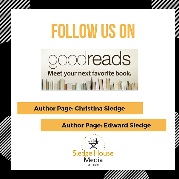 Sledge House Media Follow Christina on Goodreads Link Thumbnail | Linktree