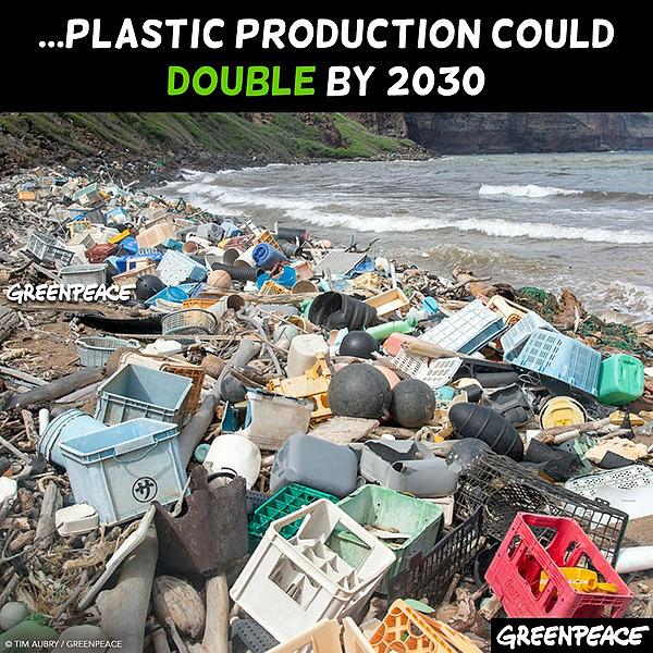 @greenpeace Stop plastic pollution Link Thumbnail | Linktree