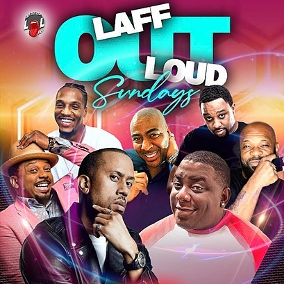 @ComedianMalcolmHill LAFF OUT LOUD SUNDAYS WITH COMEDIAN MALCOLM HILL, CAPONE, RAYAN DAVIS, AFFION CROCKETT, CARL PAYNE, CRIAG MCLAREN & INTERNET SENSATION CHUHHEA – GET YOUR TICKETS NOW! Link Thumbnail | Linktree