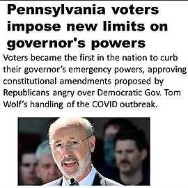 @VaccineChoiceCA Pennsylvania Changes Governor's Power Link Thumbnail | Linktree