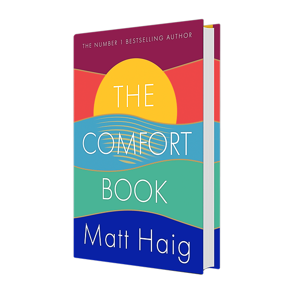 Shop Matt Haig's books IRELAND: Buy The Comfort Book at Dubray Link Thumbnail | Linktree