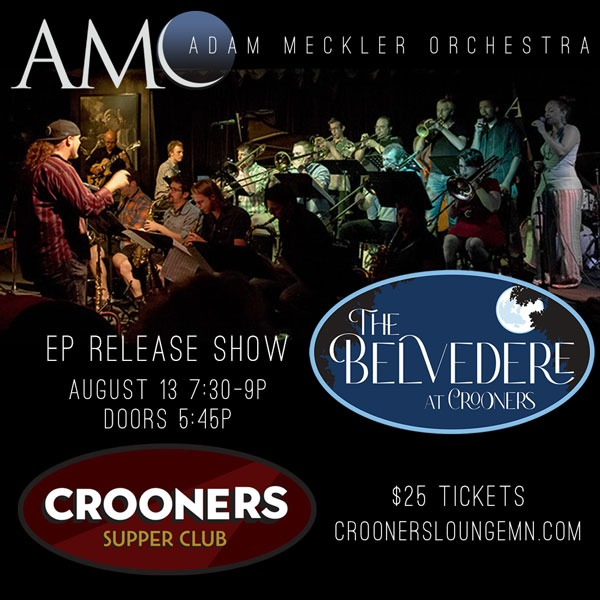 Adam Meckler Music Tickets for AMO @ Crooners Belvedere Stage August 13th, 2021 Link Thumbnail | Linktree