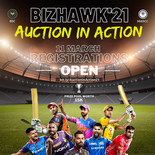 BIZHAWK'21 AUCTION IN ACTION Link Thumbnail   Linktree