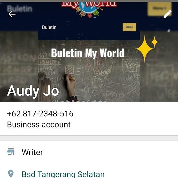 @audyjo TanyaAudrey - WHATSAPP Link Thumbnail | Linktree