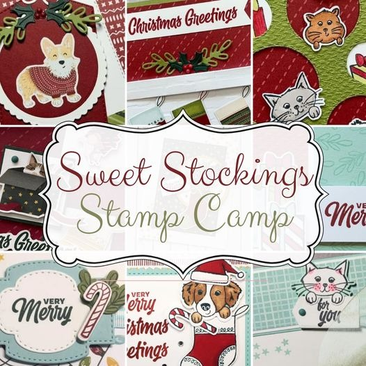Stampin With Leah - Leah Dixon Sweet Stockings Stamp Camp Link Thumbnail | Linktree