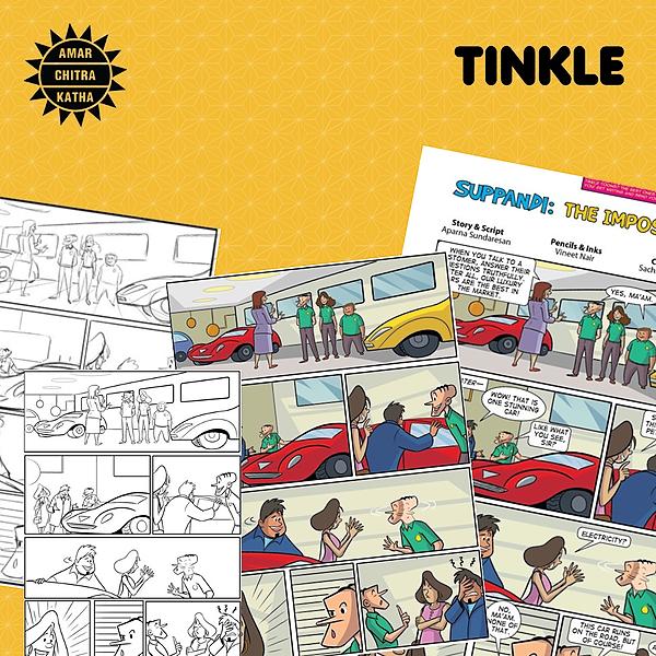 #Comics4Kids: Tinkle Comics Studio - An online workshop by Amar Chitra Katha & Tinkle