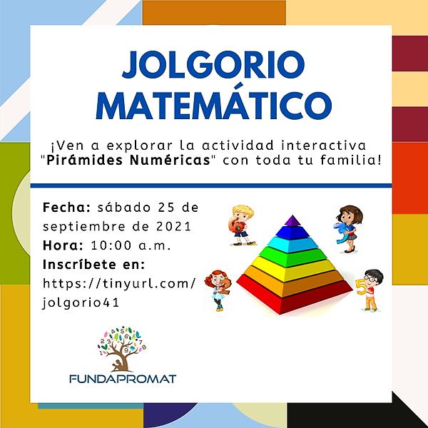 @jshakall Cuadragésimo Primer Jolgorio Matemático - para toda la familia Link Thumbnail   Linktree
