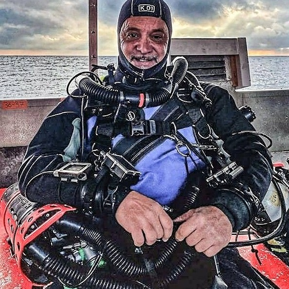14.00 - 14.30: Aldo Ferrucci, Foto e Video durante l'immersione tecnica, con Rebreather e Scooter subacquei.