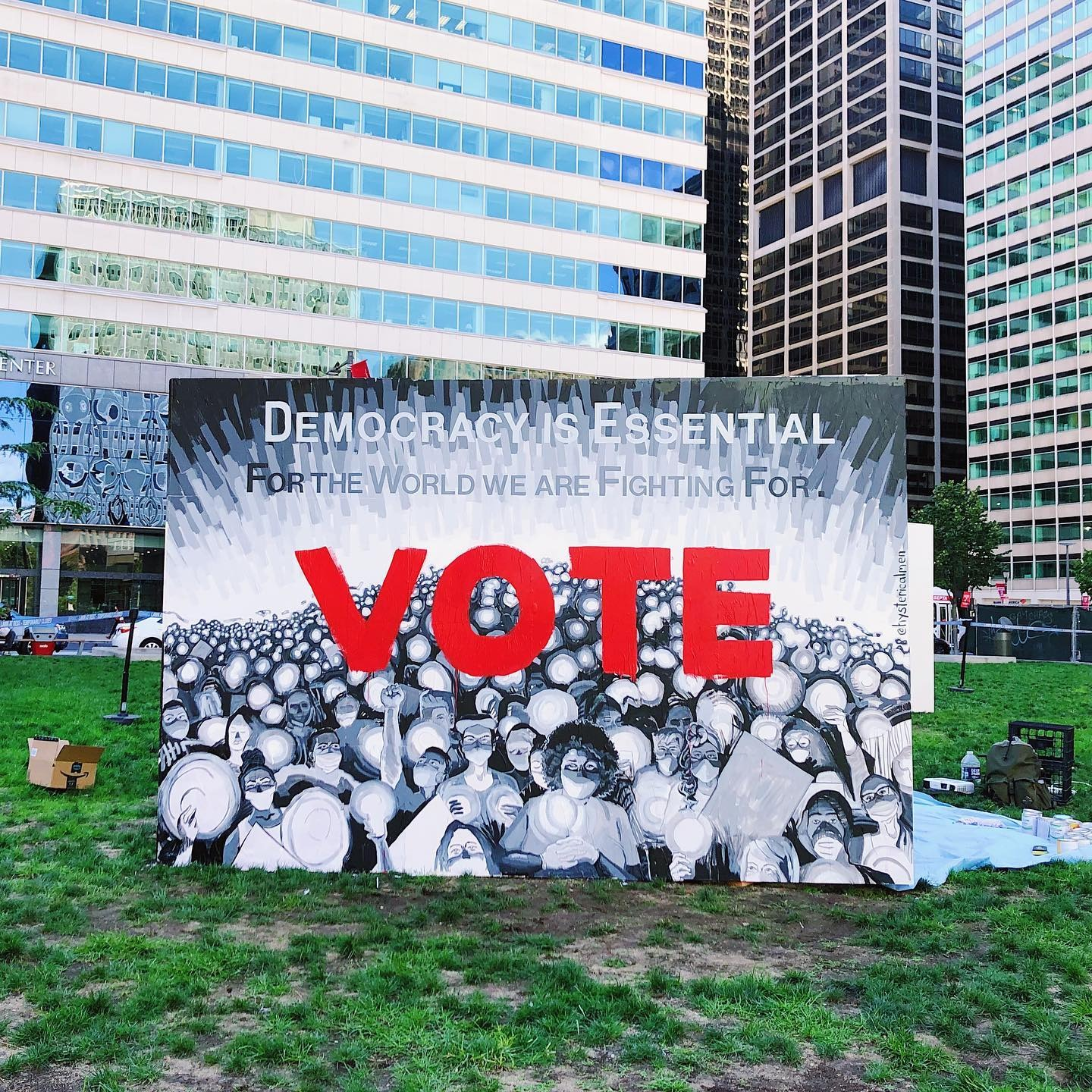 Register for our #ToThePolls2020 Artist Talk with WHYY - THURS 10/22, 5:30-6:30PM! (FREE)