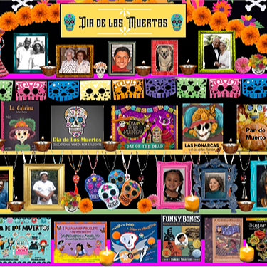 Miss Hecht Teaches 3rd Grade Dia de los Muertos Link Thumbnail | Linktree