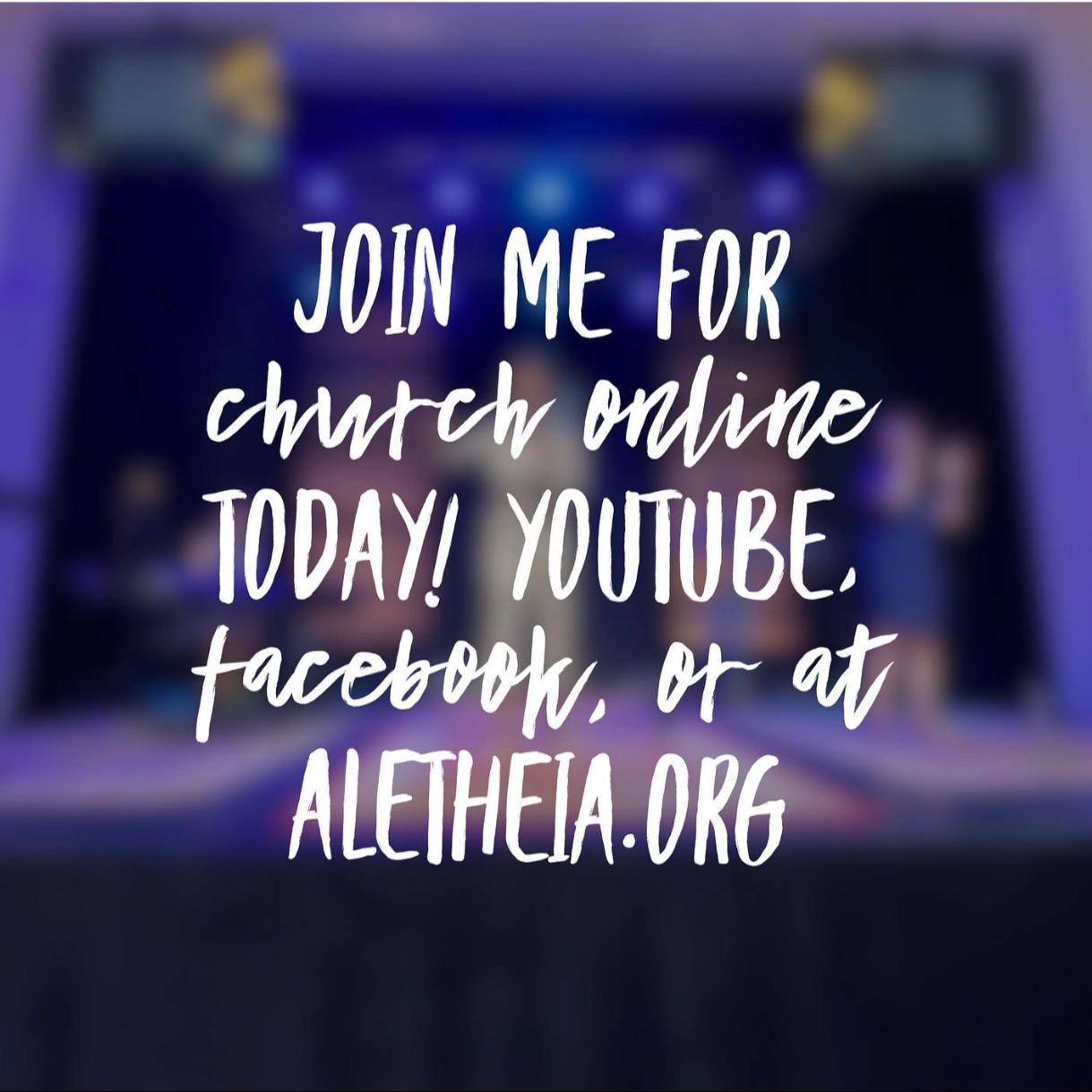 Sunday at Aletheia!