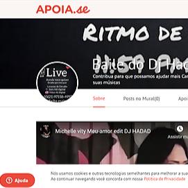 DJ HADAD DOE COM FORÇA FE E VONTADE - APOIA SE Link Thumbnail | Linktree