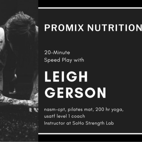 @gersonperson 20 min speed play workout Link Thumbnail | Linktree