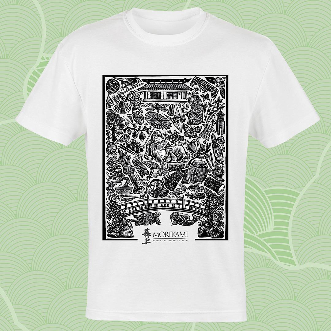 Shop the Morikami Block Print T-Shirt