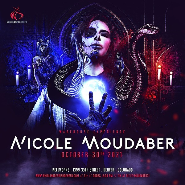 @whirlingdervishproductions Nicole Moudaber Warehouse Experience | Denver 10/30/21 Tickets Link Thumbnail | Linktree