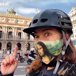 Cycling in Paris Lockdown