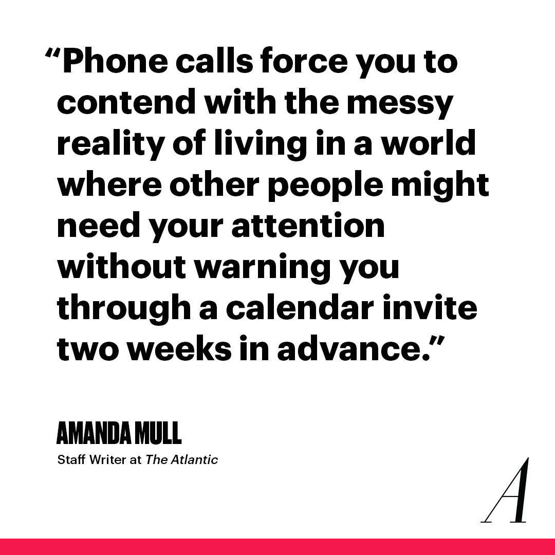 The Atlantic Talk to People on the Telephone Link Thumbnail | Linktree
