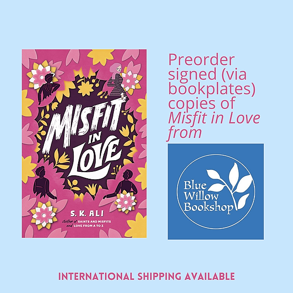 @skalibooks ORDER signed MISFIT IN LOVE from Blue Willow Bookshop (international shipping available) Link Thumbnail | Linktree