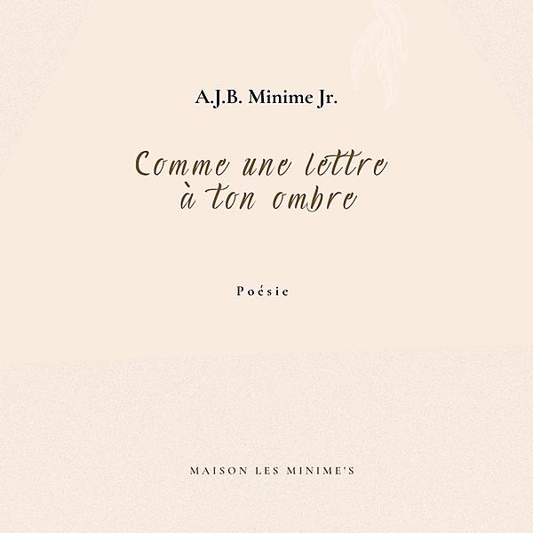 Maison Les Minime's Recueil Comme une lettre à ton ombre sur Les Libraires Link Thumbnail | Linktree