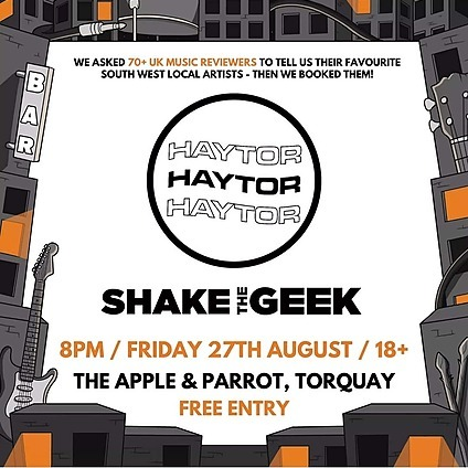 27th August - Indie Party (Torquay)