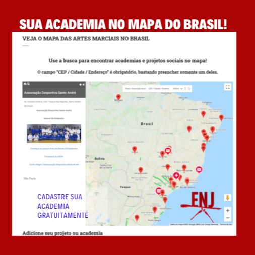 @escola_nacional_de_judo Cadastre sua academia no mapa das artes marciais no Brasil gratuitamente Link Thumbnail | Linktree