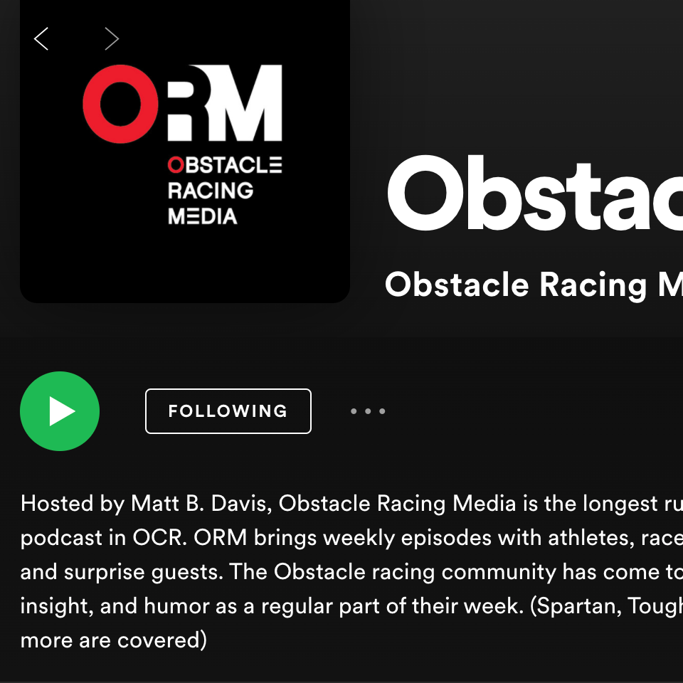 Obstacle Racing Media Podcasts