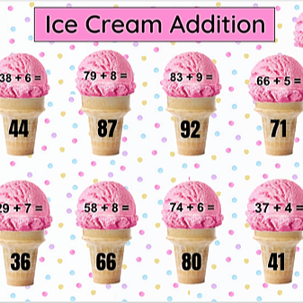 Miss Hecht Teaches 3rd Grade Ice Cream Addition Link Thumbnail | Linktree