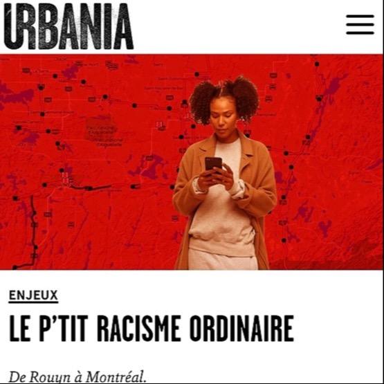 TEXTES & ARTICLES par naadei Urbania - Le p'tit racisme ordinaire Link Thumbnail   Linktree