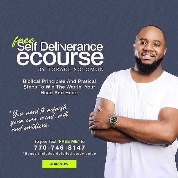 Free self Deliverance Course