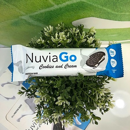 @Karin8 NuviaGo is a delicious protein bar with a cookie and cream flavor loved all over the world! Link Thumbnail | Linktree