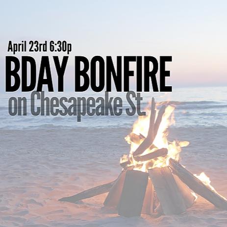 Birthday Bonfire