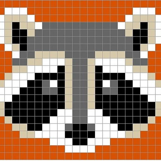 Rounding number up to 5 digits - Racoon Pixel Art