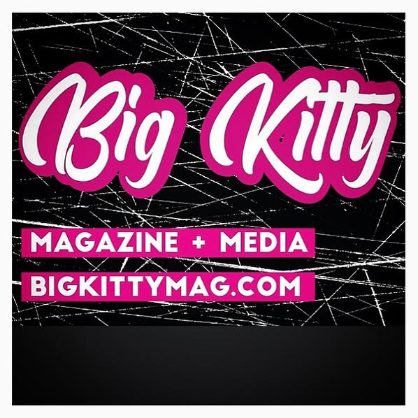 Design & Development: Big Kitty Mag Website