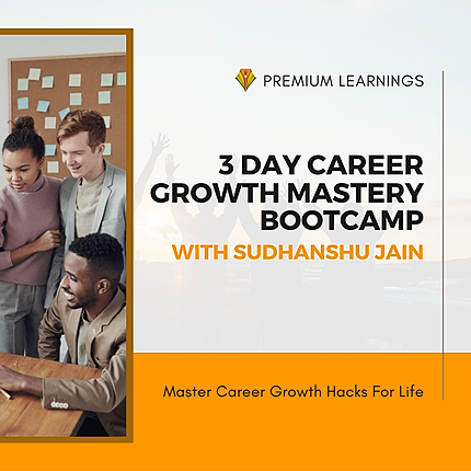 3-day CAREER GROWTH MASTERY LIVE