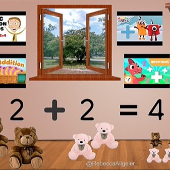 @RebeccaAllgeier Addition classroom with fillable activity Link Thumbnail | Linktree