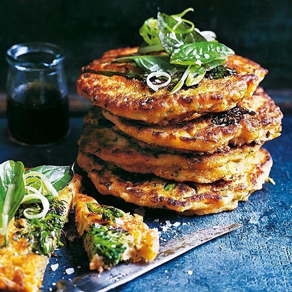@donna.hay Broccolini basil and kimchi pancakes Link Thumbnail   Linktree