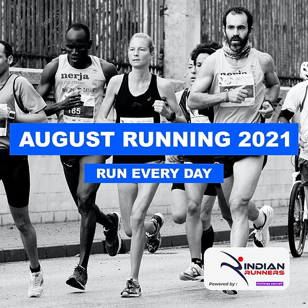 Indian Runners August Running Challenge Link Thumbnail   Linktree