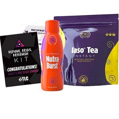 Global Wellness Queen Lemon CBD Detox Tea & Nutraburst Kit Link Thumbnail   Linktree