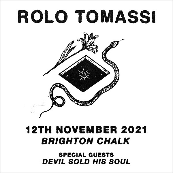 Devil Sold His Soul Brighton - w/Rolo Tomassi - 12/11/21 Link Thumbnail | Linktree