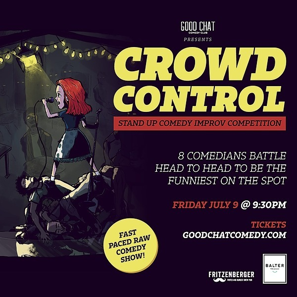 Get tickets to Crowd Control | Stand-Up Comedy Improv Competition! [July 9]