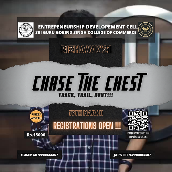 BIZHAWK'21 CHASE THE CHEST Link Thumbnail   Linktree