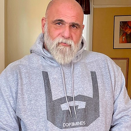 DopeMinds Bearded Hoodie